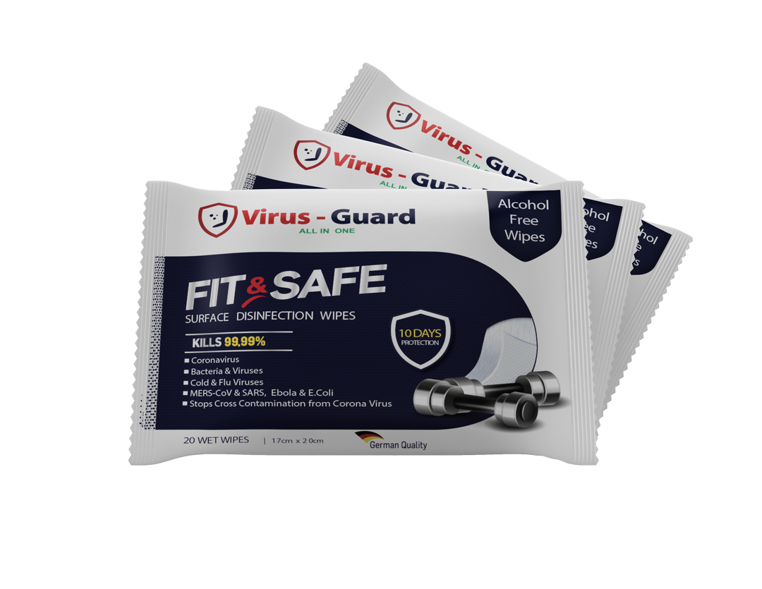 Fit & Safe Wipes