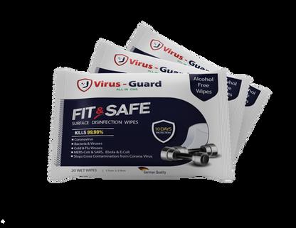Fit & Safe Wipes
