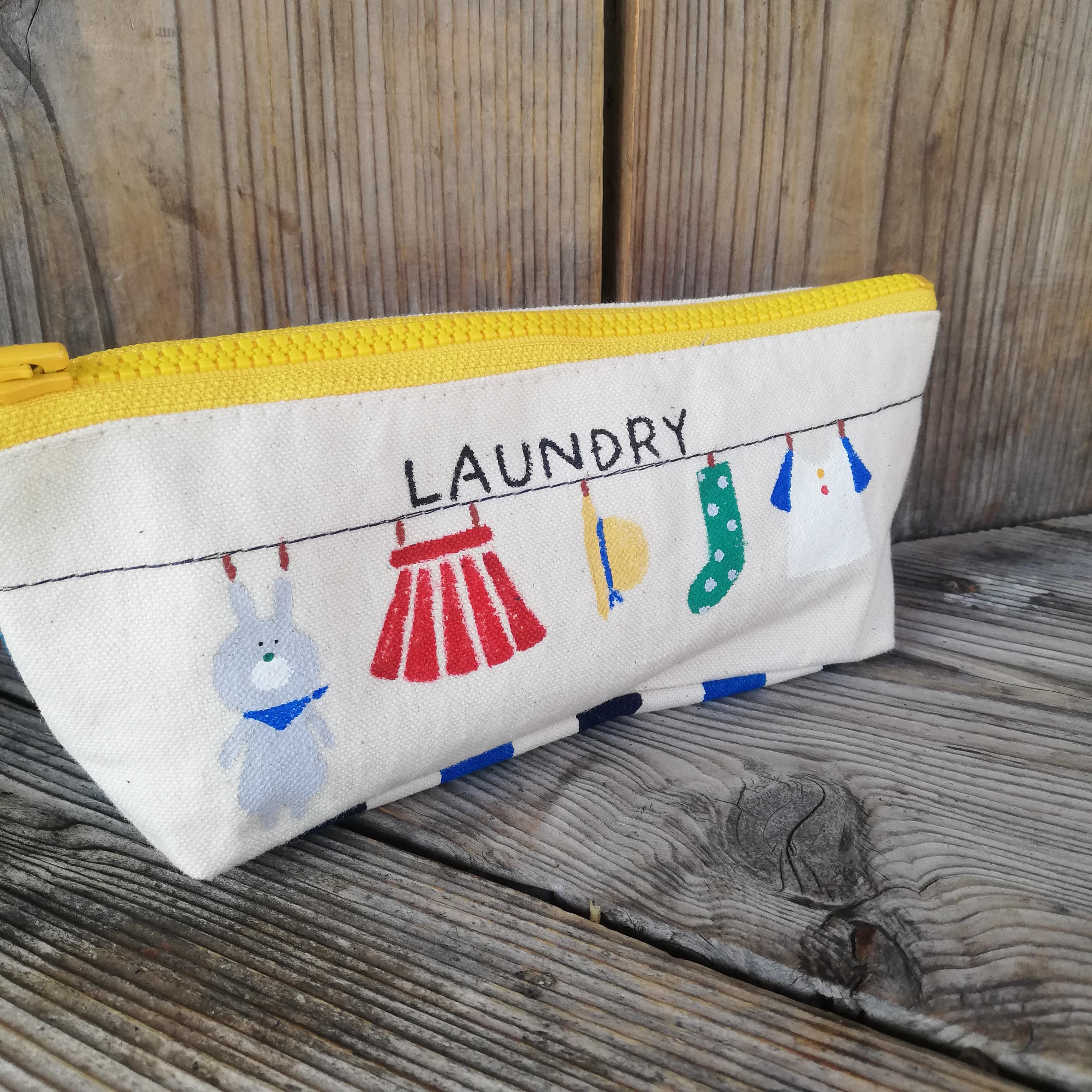 うさぎのお洗濯ペンケース