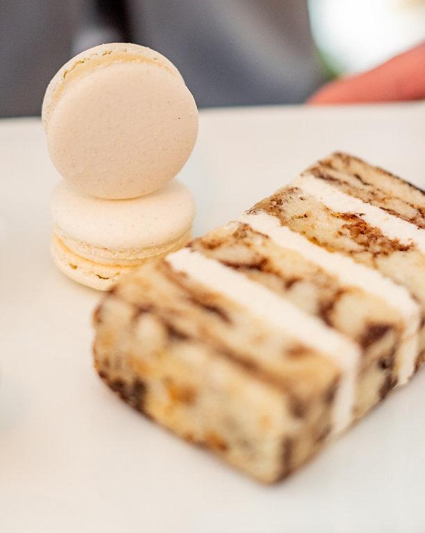 High end wedding cake Tampa Bay bakery Custom Macarons