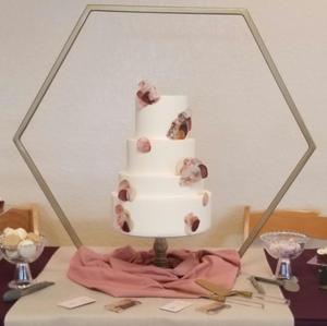 Hexagon Cake stand