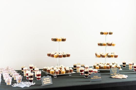 wedding dessert table Tampa wedding baker