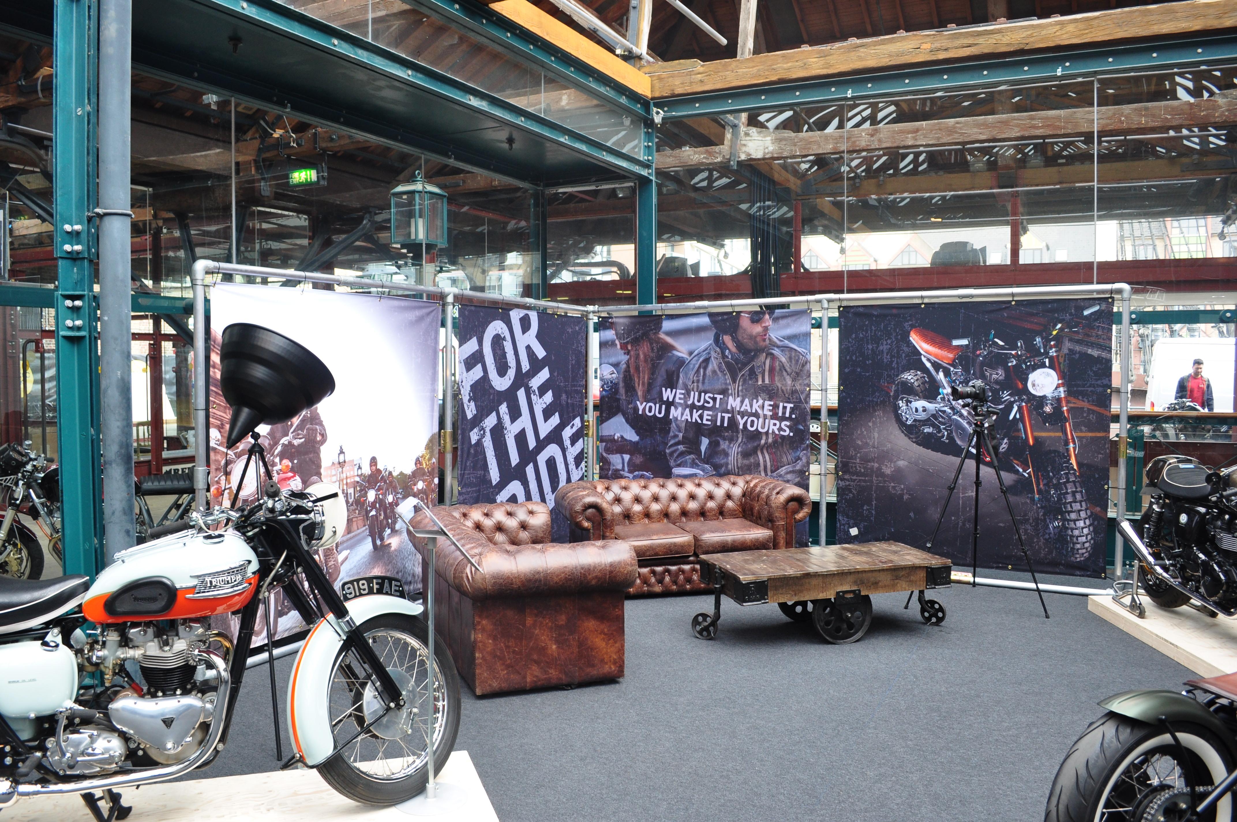 Triumph Bike Shed