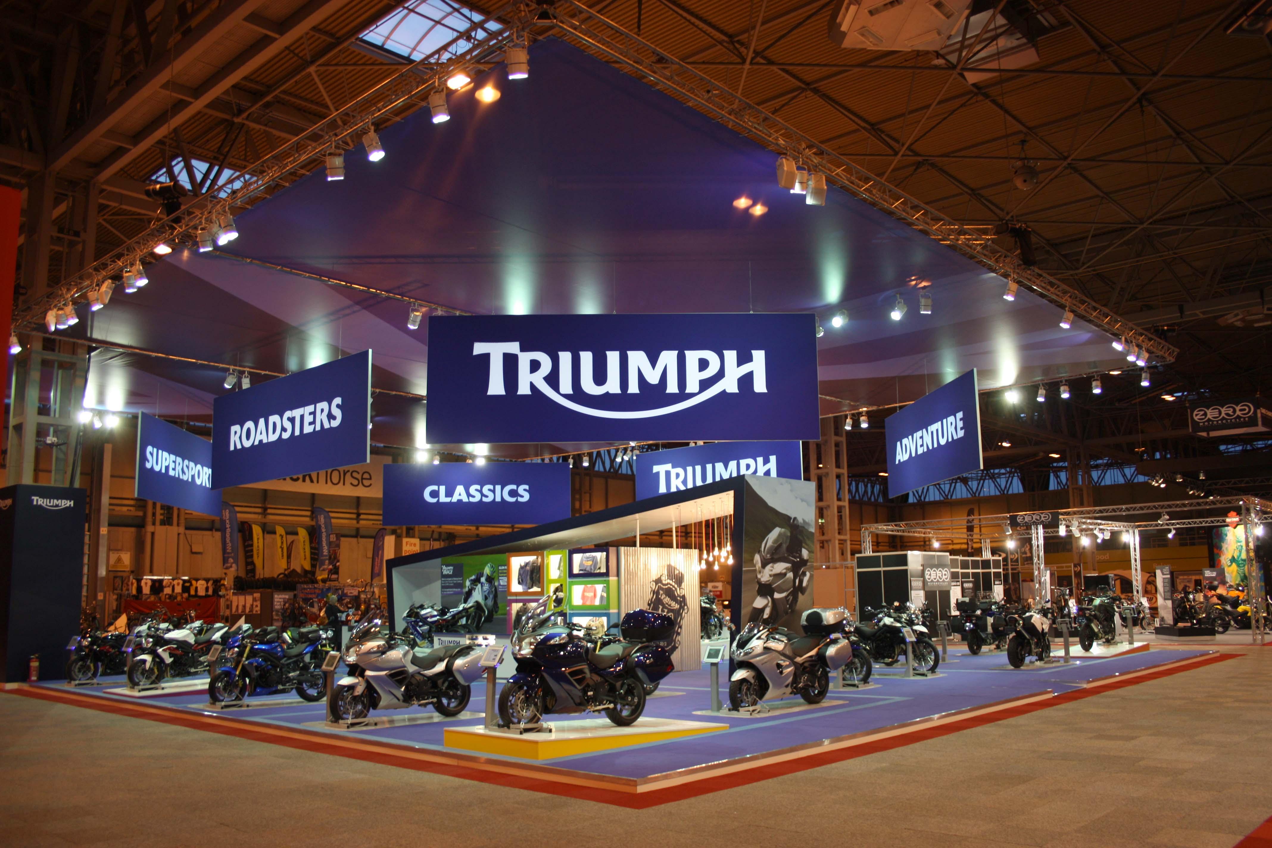 Triumph _ NEC 2012 Corner shot