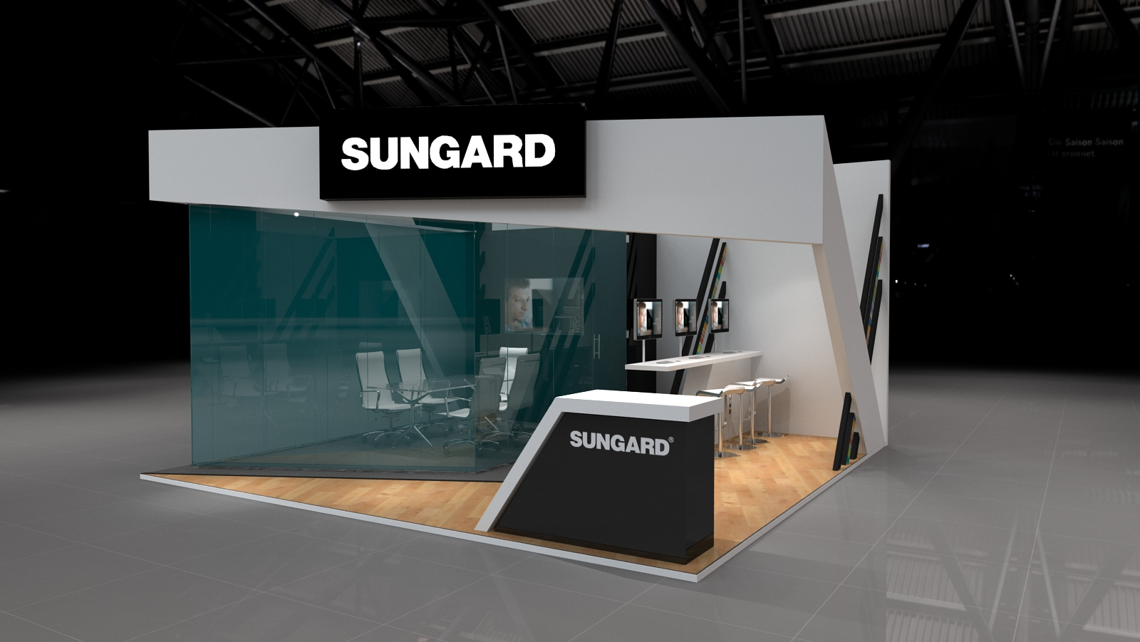 Sungard Exhibition Stand : Rachel poole creative sungard