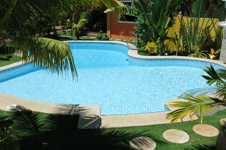main pool view from gallery house #5