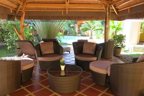 main lounge area pool-side