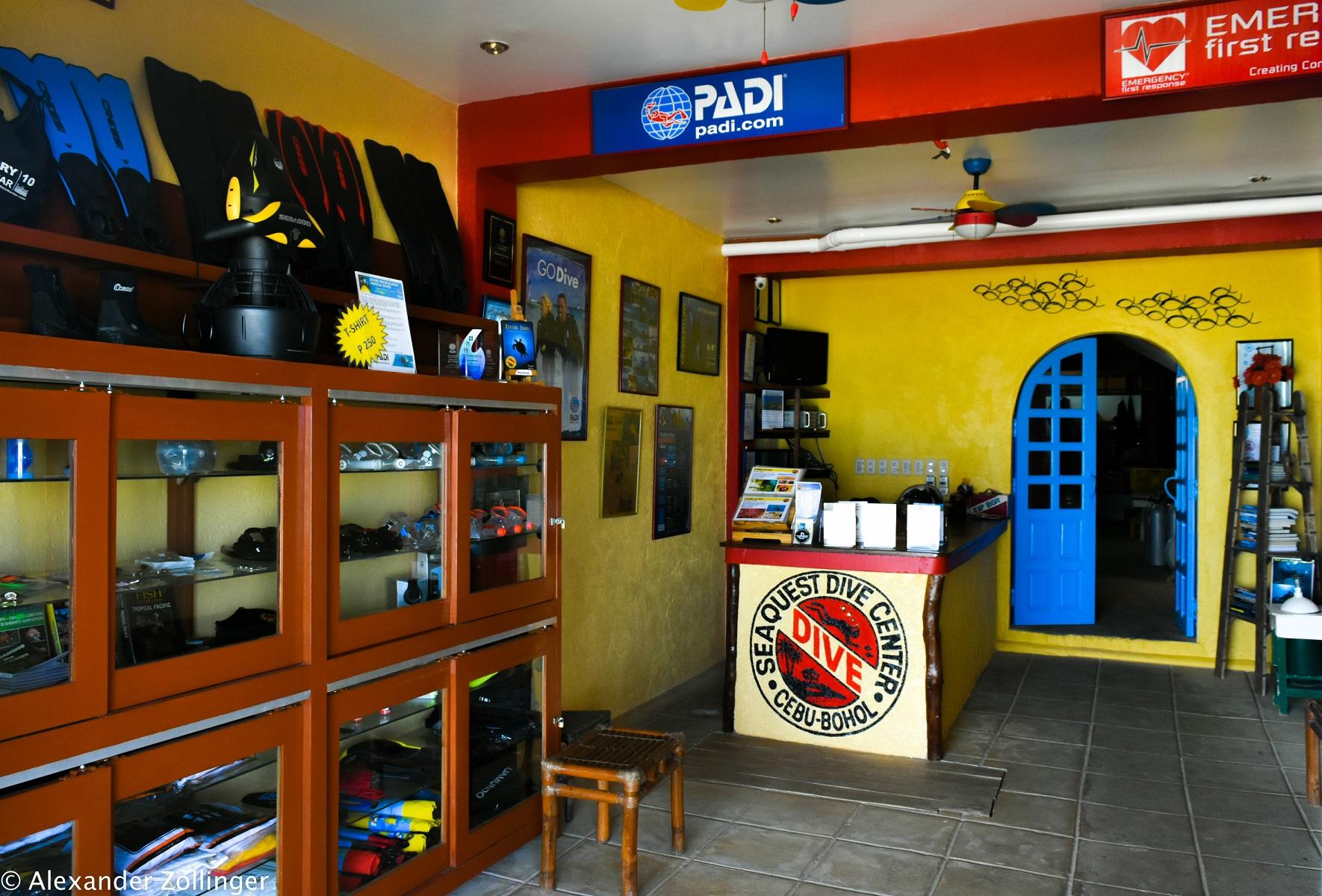 Seaquest Dive Center Shop