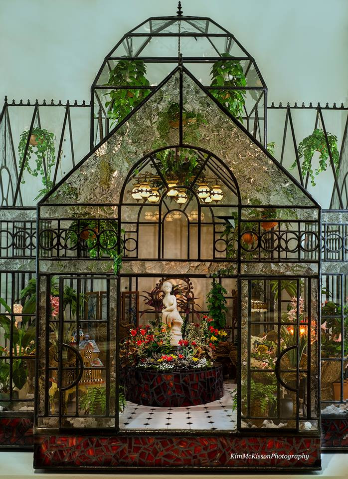 Minature Conservatory on display at KSB Collection