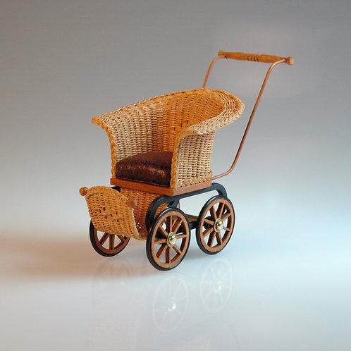 Wicker Baby Carriage by Kim Stewart