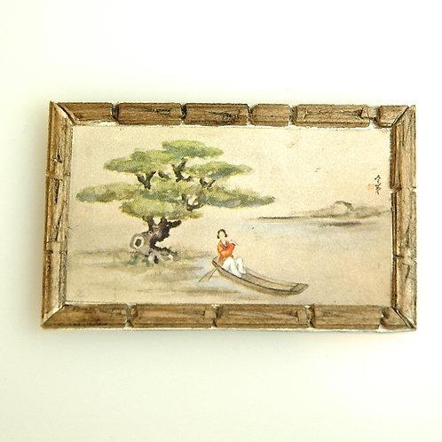 Hand Framed Asian Inspired Print