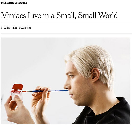 New York Times Miniacs in a Smal World