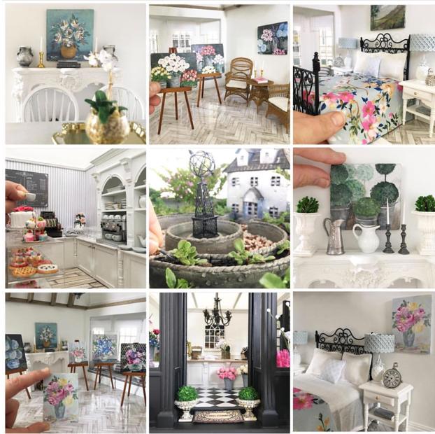 Lavender Belle Miniatures: Dollhouse Design
