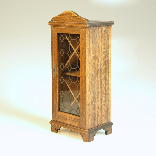 Michael Mortimer Cellar Wine Cabinet with Glass