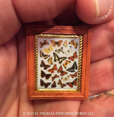 Custom Framed Print: Butterflies