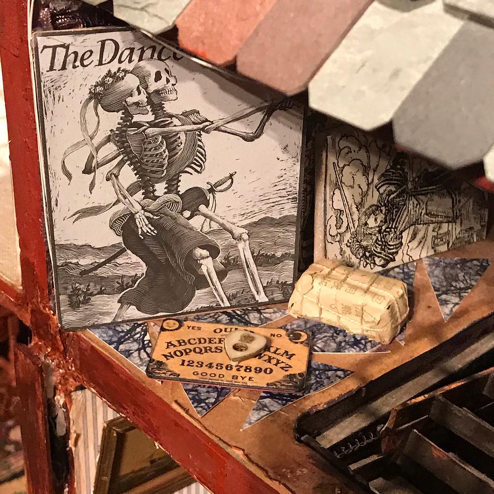 Ouija Board by Deb Mackie White Horse Studios