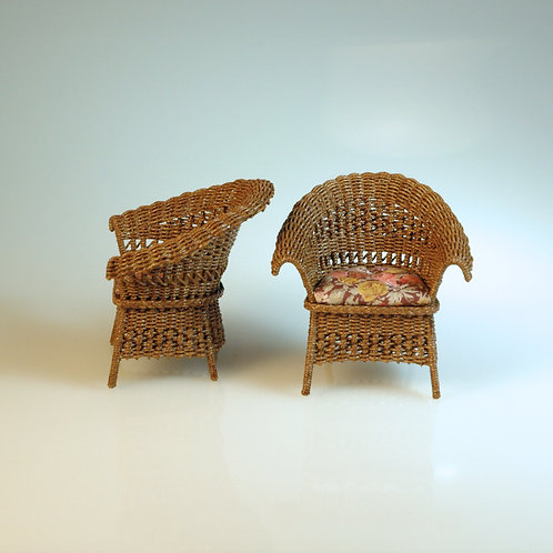 Wicker Side Chairs