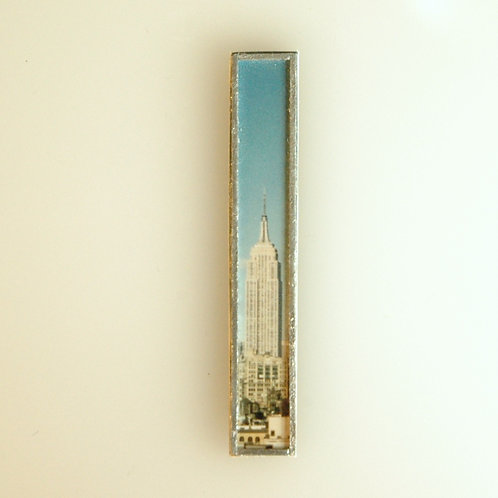 Framed Empire State Building Photograph