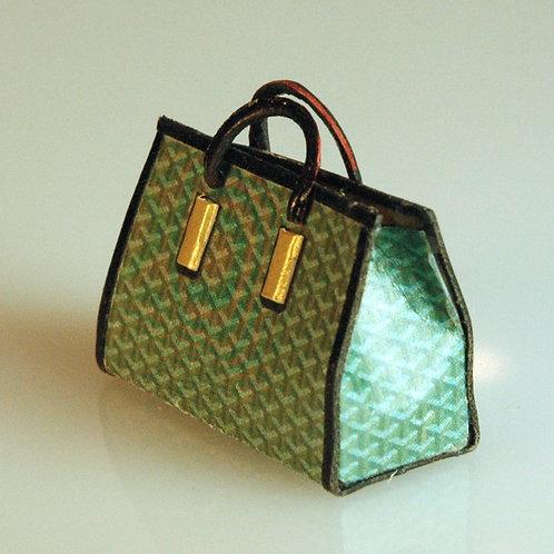 Green and Black Bag