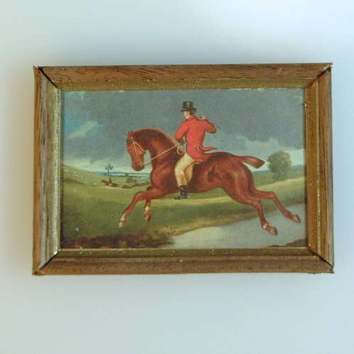 Redcoat Handframed Print