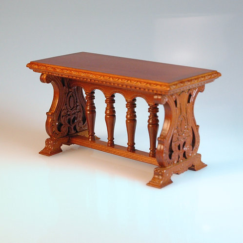 Gothic Walnut Table by JBM