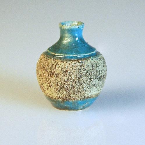 Rustic Aqua Pot