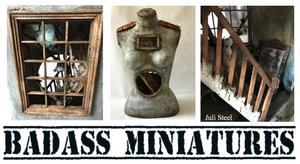 BadAss Miniatures Juli Steel Twisted Copper Forest