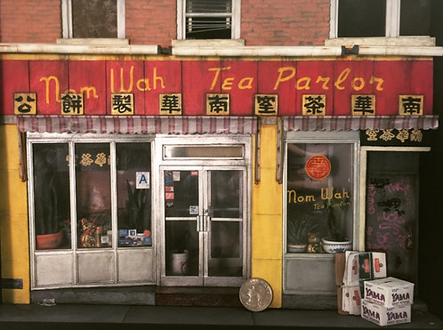 Danielle McGurran |  Nom Wah Tea Parlor, Doyers Street