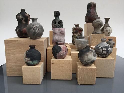 Carolyn Nygren Curran | BadAssemblage: Bottle Forms and Breasts