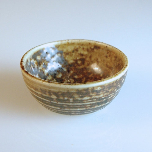 Large Spotted Brown Bowl