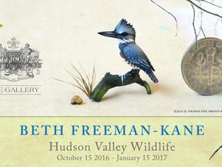 Beth Freeman-Kane: Hudson Valley Wildlife in Miniature