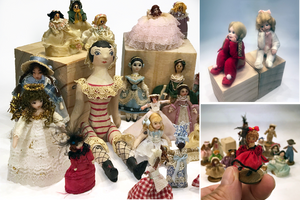 Frilly, Character and Sitting Dolls