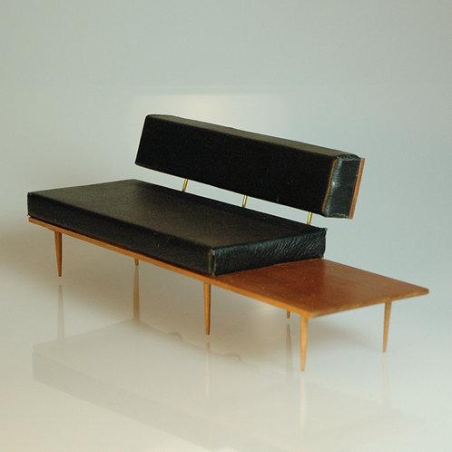 Patie Johnson Leather Sofa Table
