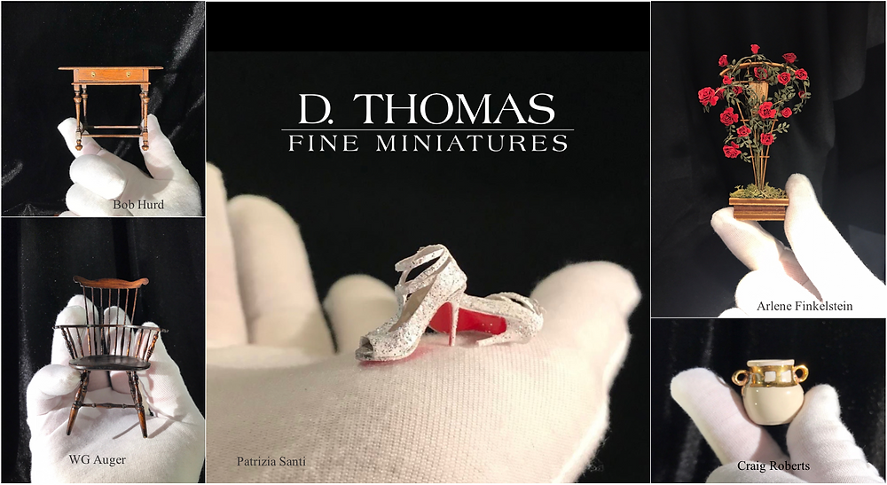 Holiday 2017 D. Thomas Fine Miniatures