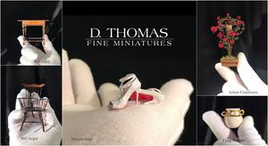 Holiday 2017 D. Thomas Fine Miniatures