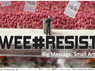 Wee#Resist: Big Message. Small Art.