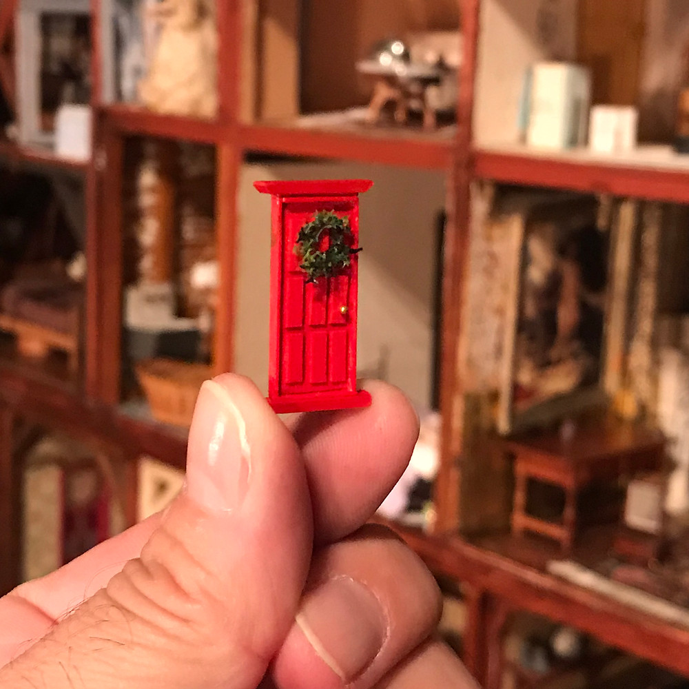 Tiny Door by D. Thomas Miniatures