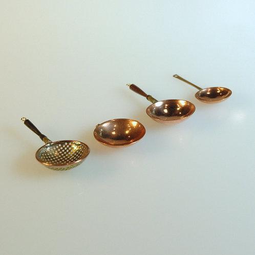 4 Piece Strainer Bowl Saute Pan Set