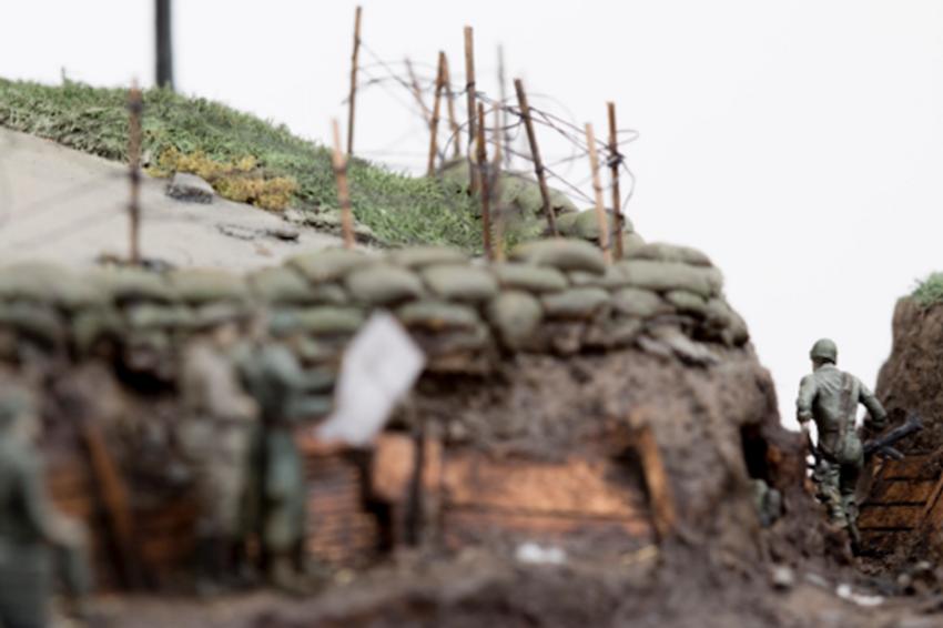 Thomas Doyle Contemporary Artist Miniatures