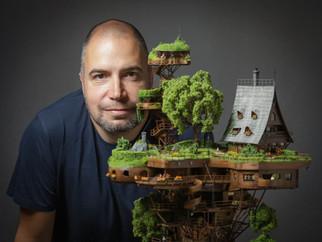 Aerial Photographer Creates A Soaring High Miniature Utopia