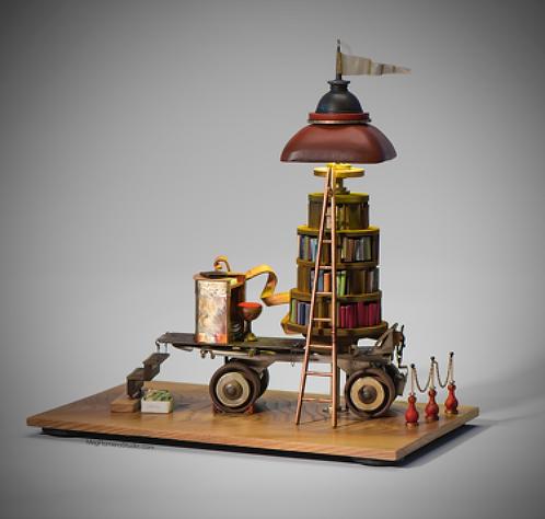 Meg Romero   Bookmobile #1 in a Series