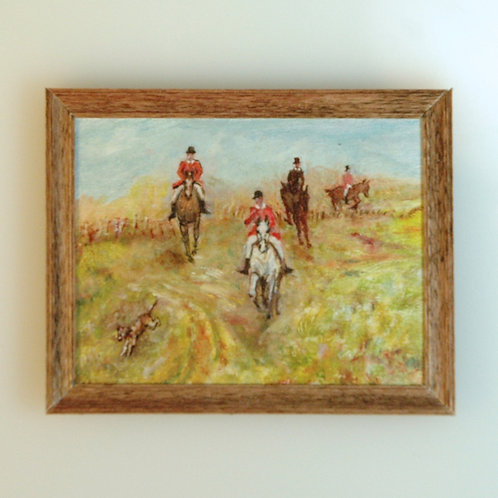 Hunting Oil Painting