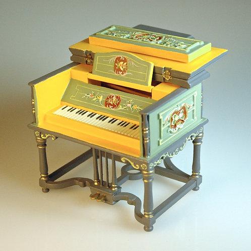 Handpainted Louis XVI Piano