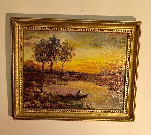 Batelier Oil Painting