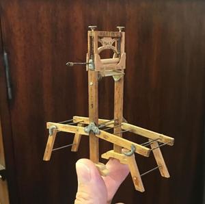 Vintage Miniature Mangler
