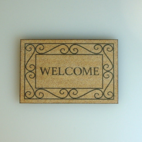 Welcome Mat by Janet Noriki