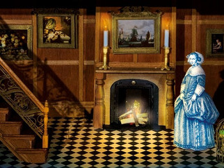 Readings from The Miniaturist by Jessie Burton at D. Thomas Fine Miniatures  Friday April 8, 2016 6-