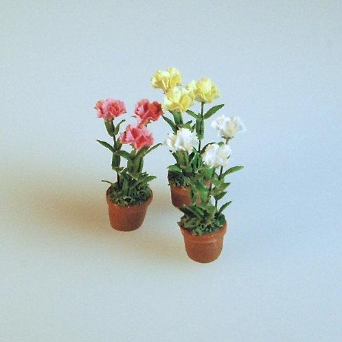 Carnations by Arlene Finkelstein YELLOW