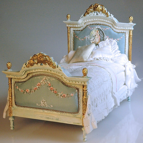 Handpainted Bed