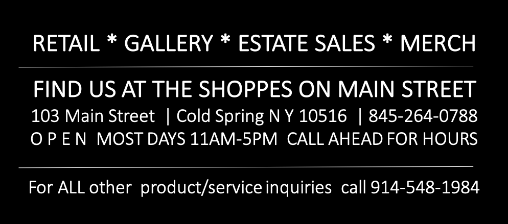 Visit the Shoppes in Cold Spring NY
